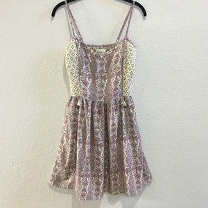 Abercrombie & Fitch boho lace dress